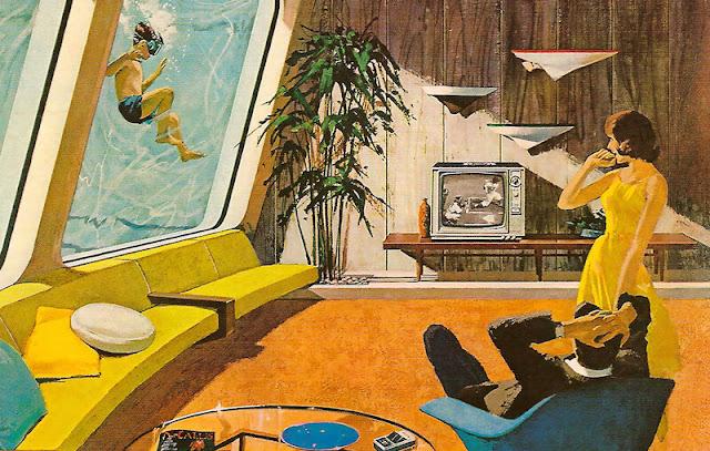 Las casas futuristas de Motorola de los años 60