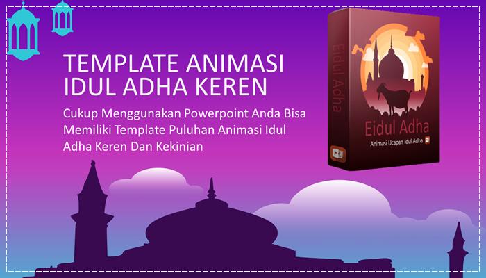Template Powerpoint Lisensi PLR Eidul Adha