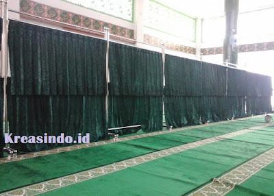 Harga Hijab Masjid Hordeng trap dua tingkat