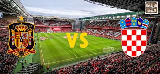 نتيجة المباراة بين منتخبي كرواتيا و إسبانيا ( يورو 2020 ) 28/6/2021