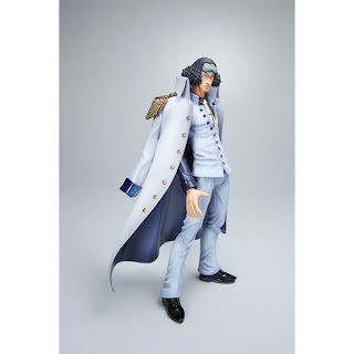 Navy Blue Coat For Aokiji - P.O.P Neo EX