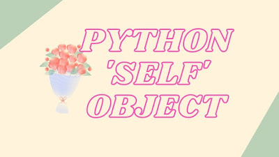 Here is useful reason to pass self object in python class function. These are helpful for your project and interviews.