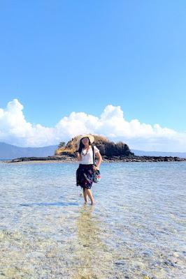 Wisata Pulau Nisa Pudu - NTB masih sunyi dan jarang diketahui orang
