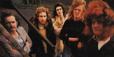Mushroom (left to right: Michael Power, Alan Browne, Colm Lynch, Pat Collins and Aonghus McAnally)