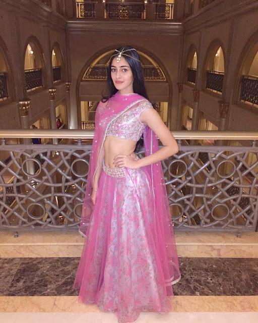 Bollywood Cute Girl Ananya Pandey Hot Stills Actress Trend