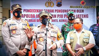 Polda Jateng Siagakan Dokkes Dipengungsian Gunung Merapi