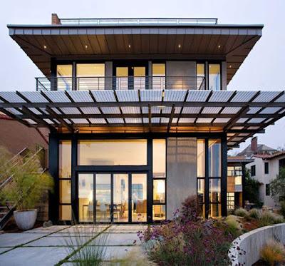 [Terbaru] 15 Desain Istimewa Kanopi Rumah Minimalis 201914