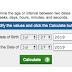 Check your AGE (Age Calculator)