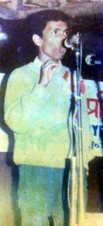 Bikash Gotamay a Nepali poet from Mungpoo