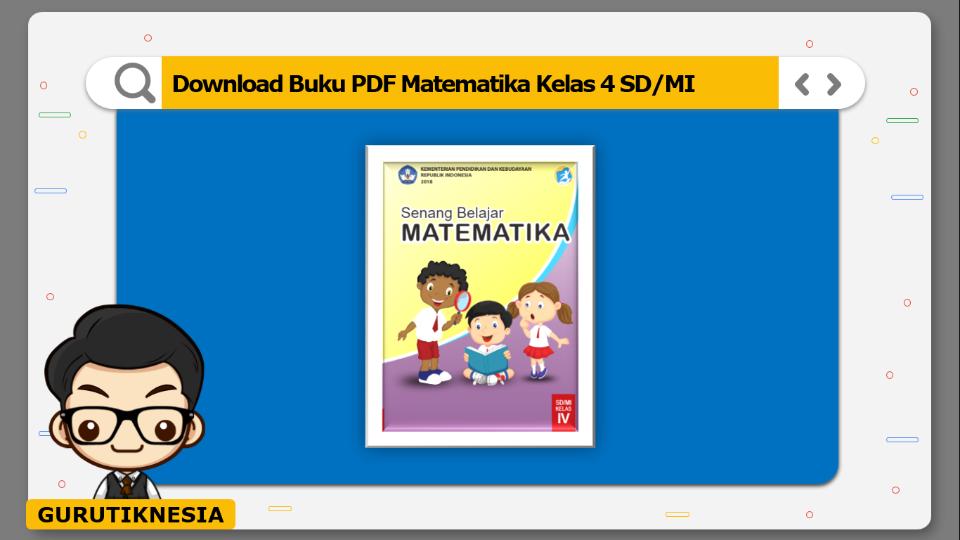 download buku pdf matematika kelas 4 sdmi