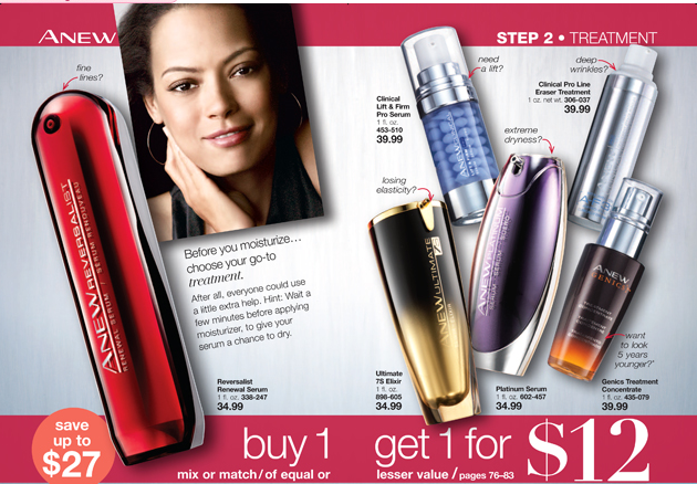 Avon Anew Sales|Buy 1 Get 1 for $12