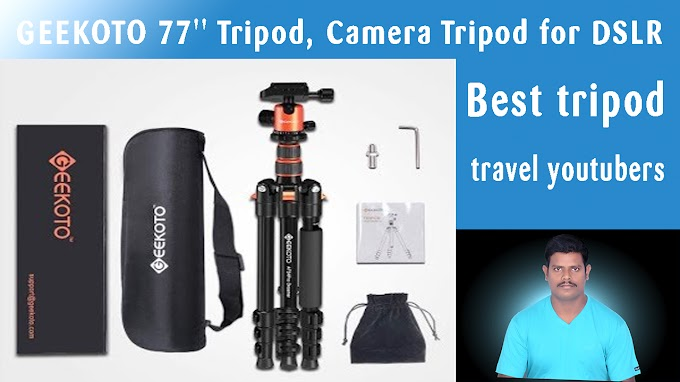 Best tripod for you-tube videos 70 to 80 inches budget tripod for all you tubers :technobos.com