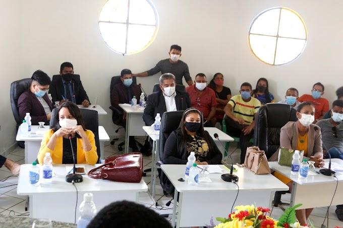 Câmara de Turilândia realiza primeira sessão de 2021