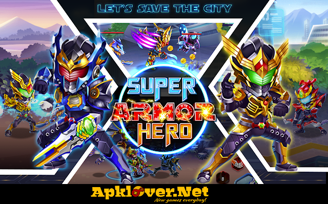 Superhero Armor APK MOD Unlimited money