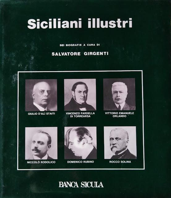 Salvatore Girgenti - Siciliani Illustri. Anno 1985.  Soc. Coop. a.r.l. Litotipografia Nuova Radio, Trapani