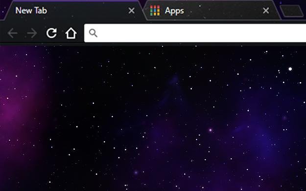 Nebula Google Theme