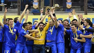 FÚTBOL SALA - UEFA Cup 2015/2016: el debutante Yugorsk es el nuevo campeón de Europa en Guadalajara ante el Inter