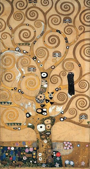 "Klimt  ""The Tree of Life"""