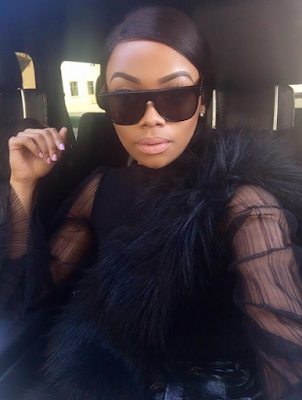 Bonang Matheba stuns in all black ensemble (photos)