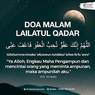 Doa Malam Lailatur Qadar - Kajian Islam Tarakan