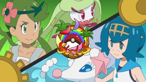 Pokemon Sol y Luna Capitulo 130 Temporada 20 Mao y Suiren, una batalla de amistad totalmente poderosa