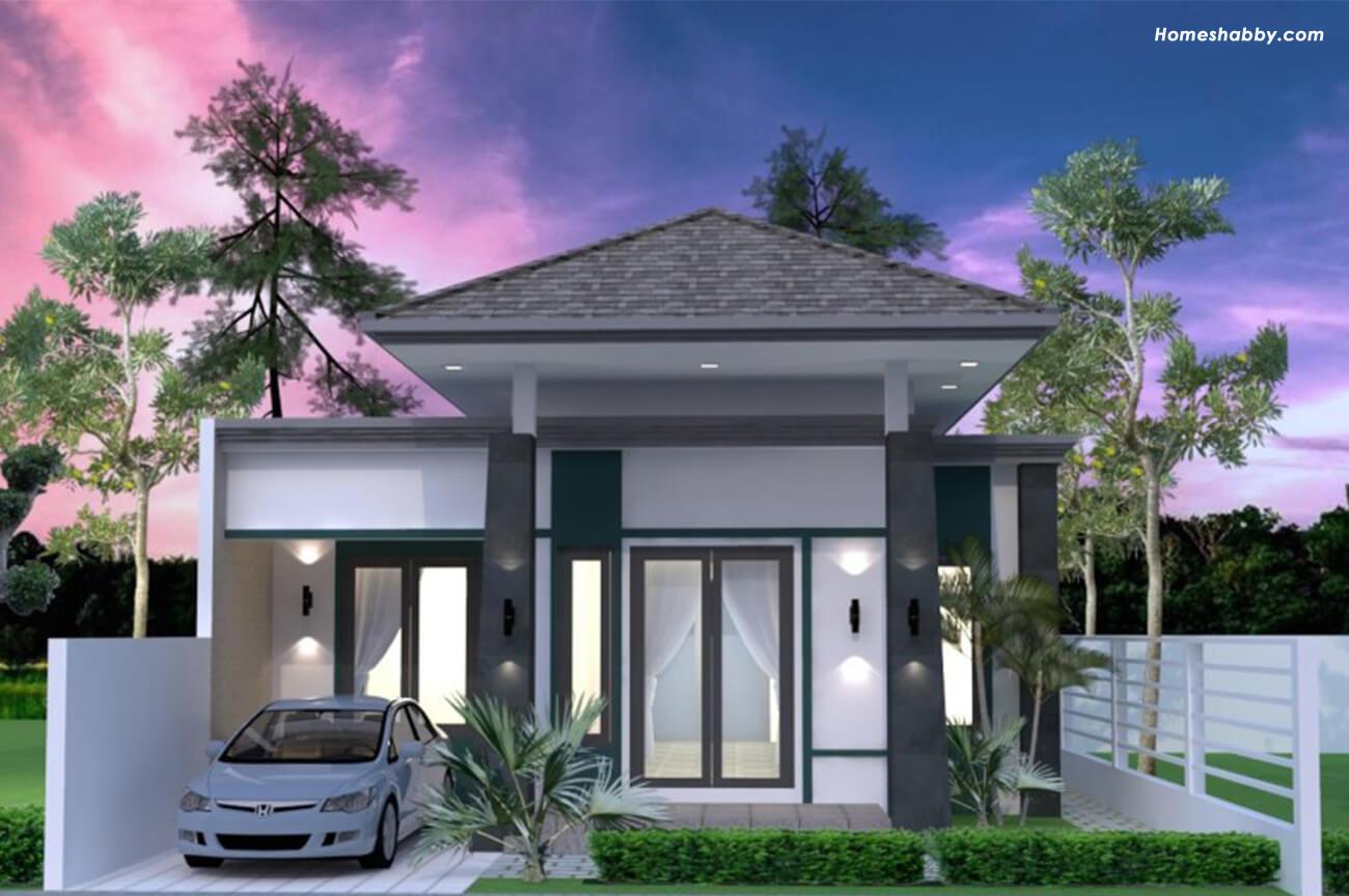 Các thiết kế và kế hoạch ngôi nhà hiện đại với mái nhà Limasan cùng nhau