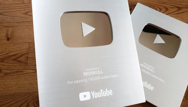 Nút bạc youtube được bao nhiêu tiền