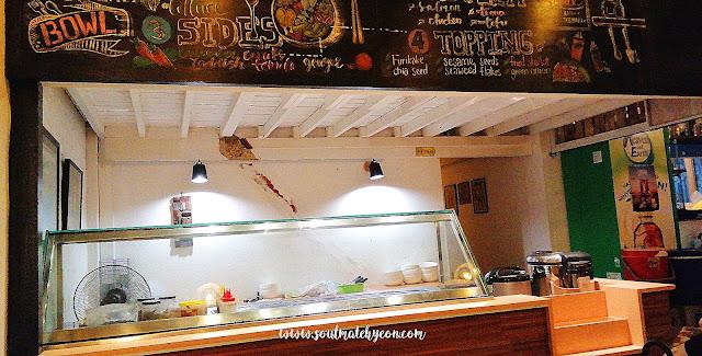 In a bowl, Biru Biru Cafe