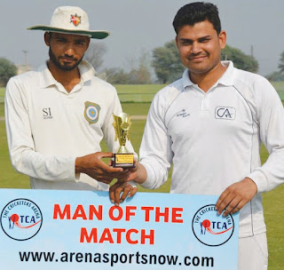 TCA Cup chairman -11 wins, Amit remains man of the match