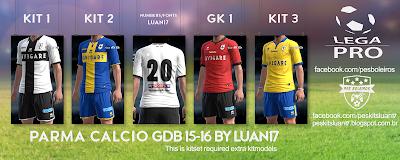 PES 2013 Calcio Kitpack 15/16 GDB by Luan17