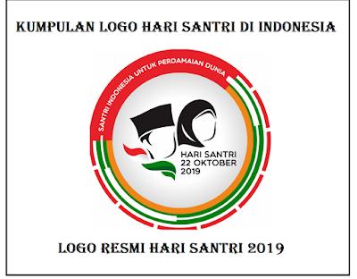 Kumpulan logo hari santri di indonesia