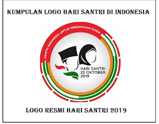 Kumpulan logo hari santri nasional format png