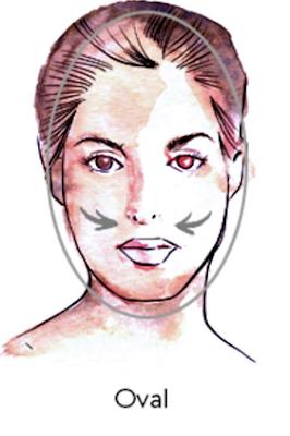 rosto-oval