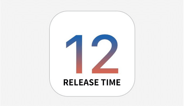 iOS 12 release Time