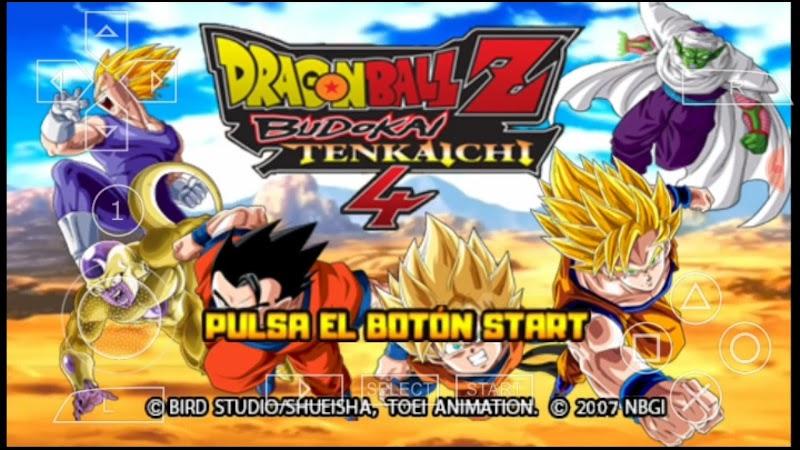 Dragon Ball Z Game Budokai Tenkaichi Tag Team 3 For PSP