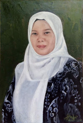 My Sister Portrait Painting