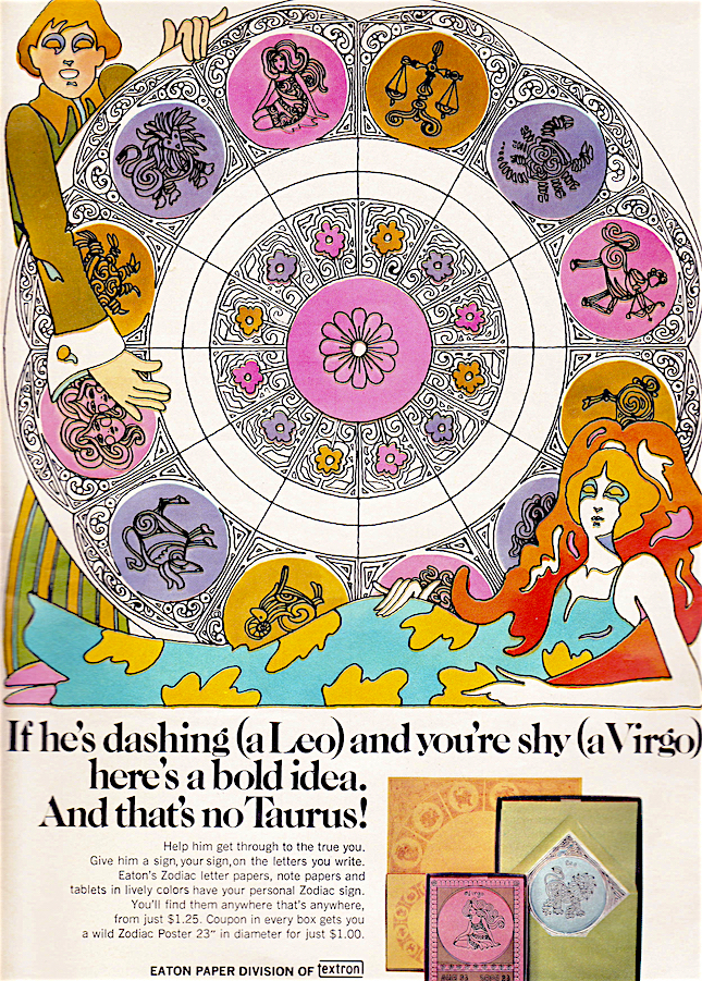 1970s Zodiac, 1970s Astrology,