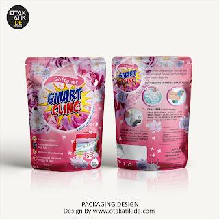 Jasa desain kemasan detergent softener