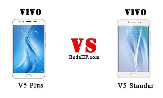 Perbedaan Vivo V5 dan V5 Plus