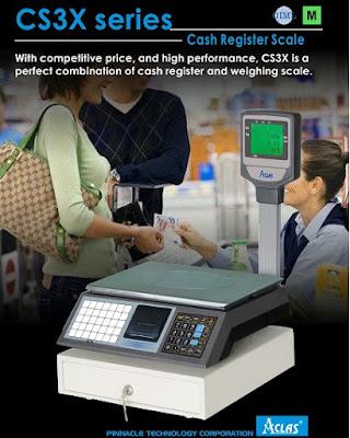 cân tính tiền CS3X Đài Loan