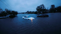 Foram registrados inúmeros pontos de inundação e cerca de 900 mil casas e empresas ficaram sem energia.