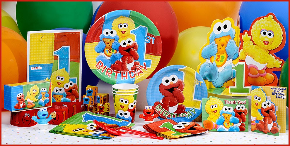 Peachy My Webb Of Life Sesame Street 1St Birthday Interior Design Ideas Tzicisoteloinfo