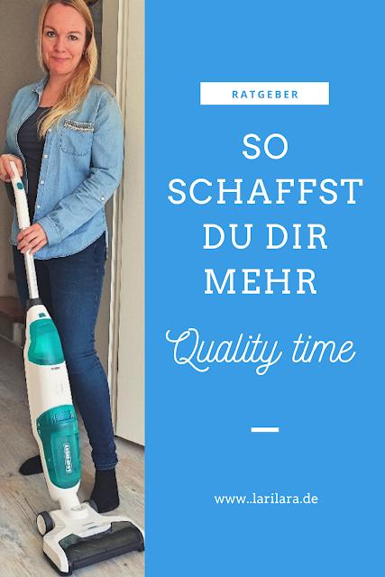 Leifheit Akku-Saugwischer für mehr Quality Time