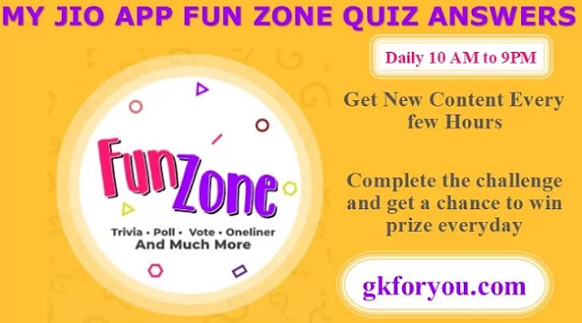 my-jio-app-fun-zone-quiz-answers-today