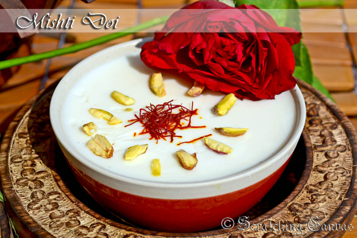 Bengali Mishti Doi Or Homemade Sweet Yogurt