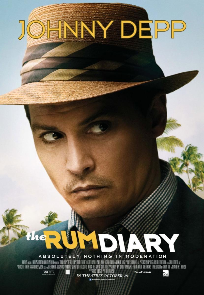 Download The Rum Diary (2011) Full Movie in Hindi Dual Audio BluRay 720p [1GB]