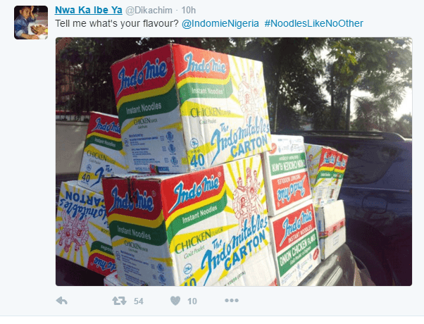 indomie compensates man who inspired advert