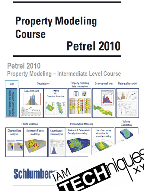 Modeling Course Book Using Schlumberger Petrel Software 2010