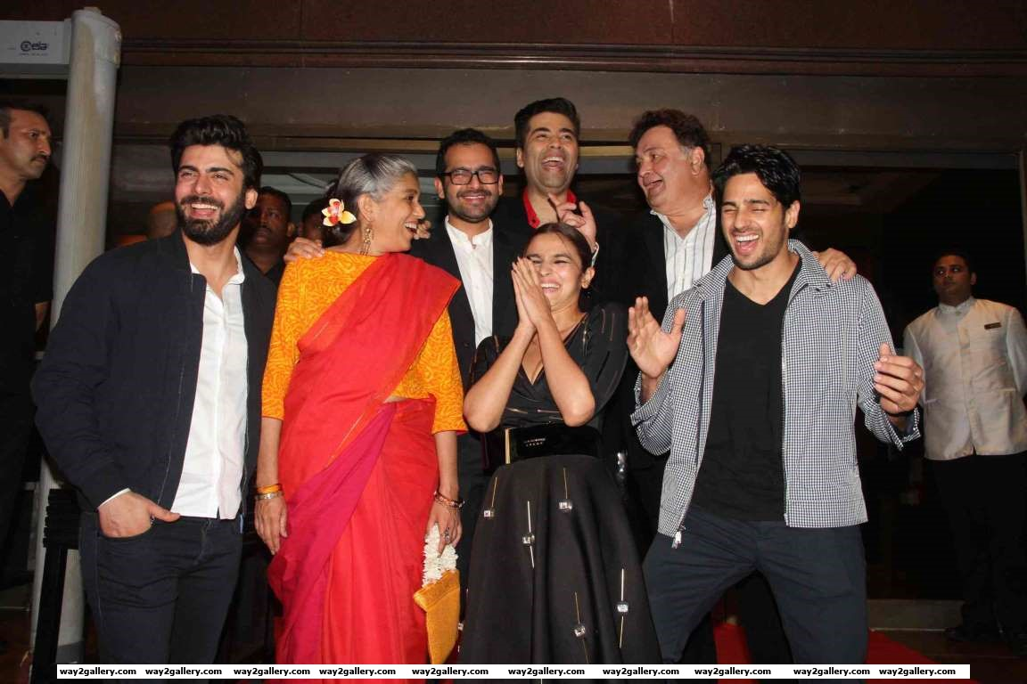 The cast and crew of Kapoor  Sons are all smiles at the films success party