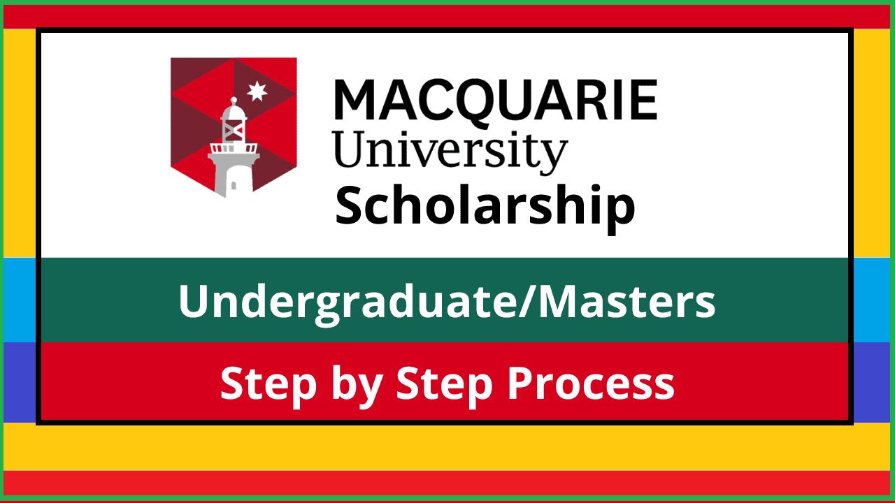 منحة جامعة ماكواري 2022 (عملية التقديم)